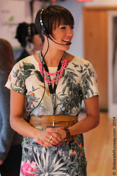 Eco Fashion Week S S 2014 Fashionistas Seen The Show Day 2 If The Sidewalk Was A Runway